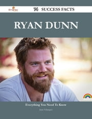 Ryan Dunn 74 Success Facts - Everything you need to know about Ryan Dunn ebook by Juan Velasquez