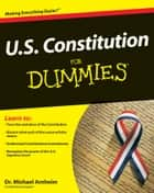 U.S. Constitution For Dummies ebook by Michael Arnheim