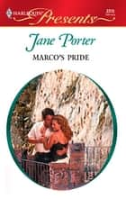 Marco's Pride ebook by Jane Porter