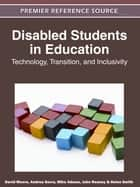 Disabled Students in Education ebook by David Moore,Andrea Gorra,Mike Adams,John Reaney,Helen Smith