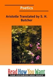 Poetics ebook by Butcher S. H.