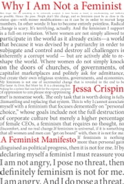 Why I Am Not a Feminist - A Feminist Manifesto ebook by Kobo.Web.Store.Products.Fields.ContributorFieldViewModel
