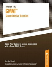 Master the GMAT--Quantitative Section ebook by Peterson's,Mark Alan Stewart
