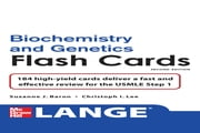 Lange Biochemistry and Genetics Flash Cards 2/E ebook by Suzanne Baron