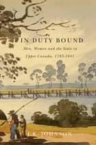 In Duty Bound ebook by J.K. Johnson
