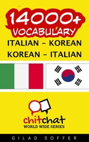14000+ Vocabulary Italian - Korean ebook by Gilad Soffer