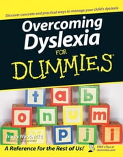 Overcoming Dyslexia For Dummies ebook by Tracey Wood