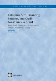 Enterprise Size, Financing Patterns, and Credit Constraints in Brazil: Analysis of Data from the Investment Climate Assessment Survey ebook by Kumar, Anjali