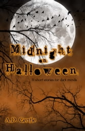 Midnight on Halloween ebook by AD Gentle