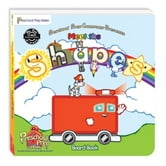 Meet the Shapes Board Book ebook by Kathy Oxley