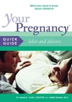 Your Pregnancy Quick Guide: Labor and Delivery ebook by Glade Curtis, Judith Schuler
