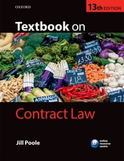 Textbook on Contract Law ebook by Jill Poole