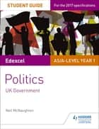 Edexcel AS/A-level Politics Student Guide 2: UK Government ebook by Neil McNaughton