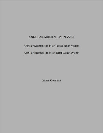 Angular Momentum Puzzle ebook by James Constant
