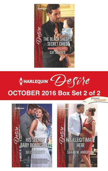 Harlequin Desire October 2016 - Box Set 2 of 2 - An Anthology ebook by Cat Schield,Jules Bennett,Sarah M. Anderson