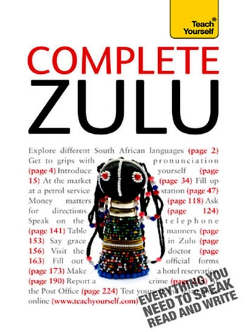 Complete Zulu Beginner to Intermediate Book and Audio Course - Learn to read, write, speak and understand a new language with Teach Yourself ebook by Arnett Wilkes,Nikolias Nkosi