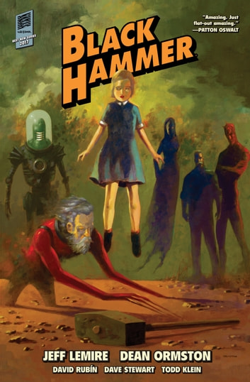 Black Hammer Library Edition Volume 1 ebook by Jeff Lemire