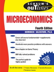 Schaum's Outline of Microeconomics, 4th edition ebook by Dominick Salvatore
