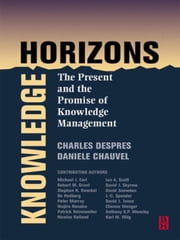 Knowledge Horizons ebook by Charles Despres,Daniele Chauvel