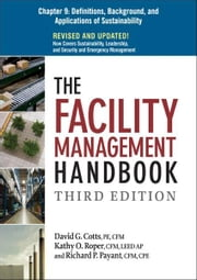 The Facility Management Handbook, Chapter 9 ebook by David G. COTTS