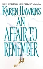 An Affair to Remember ebook by