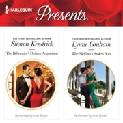 The Billionaire's Defiant Acquisition & The Sicilian's Stolen Son audiobook by Sharon Kendrick, Lynne Graham