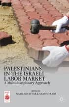 Palestinians in the Israeli Labor Market - A Multi-disciplinary Approach ebook by N. Khattab, S. Miaari