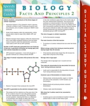 Biology Facts And Principles 2 (Speedy Study Guides) ebook by Speedy Publishing