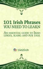 101 Irish Phrases You Need To Know - An essential guide to Irish lingo, slang and pub talk ebook by Mark Farrelly, Blathnaid Healy
