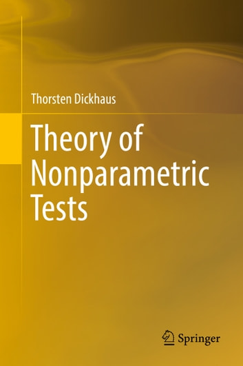 Theory of Nonparametric Tests ebook by Thorsten Dickhaus