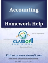 Financial Statement Analysis Ratios ebook by Homework Help Classof1