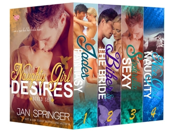Naughty Girl Desires Boxed Set ebook by Jan Springer