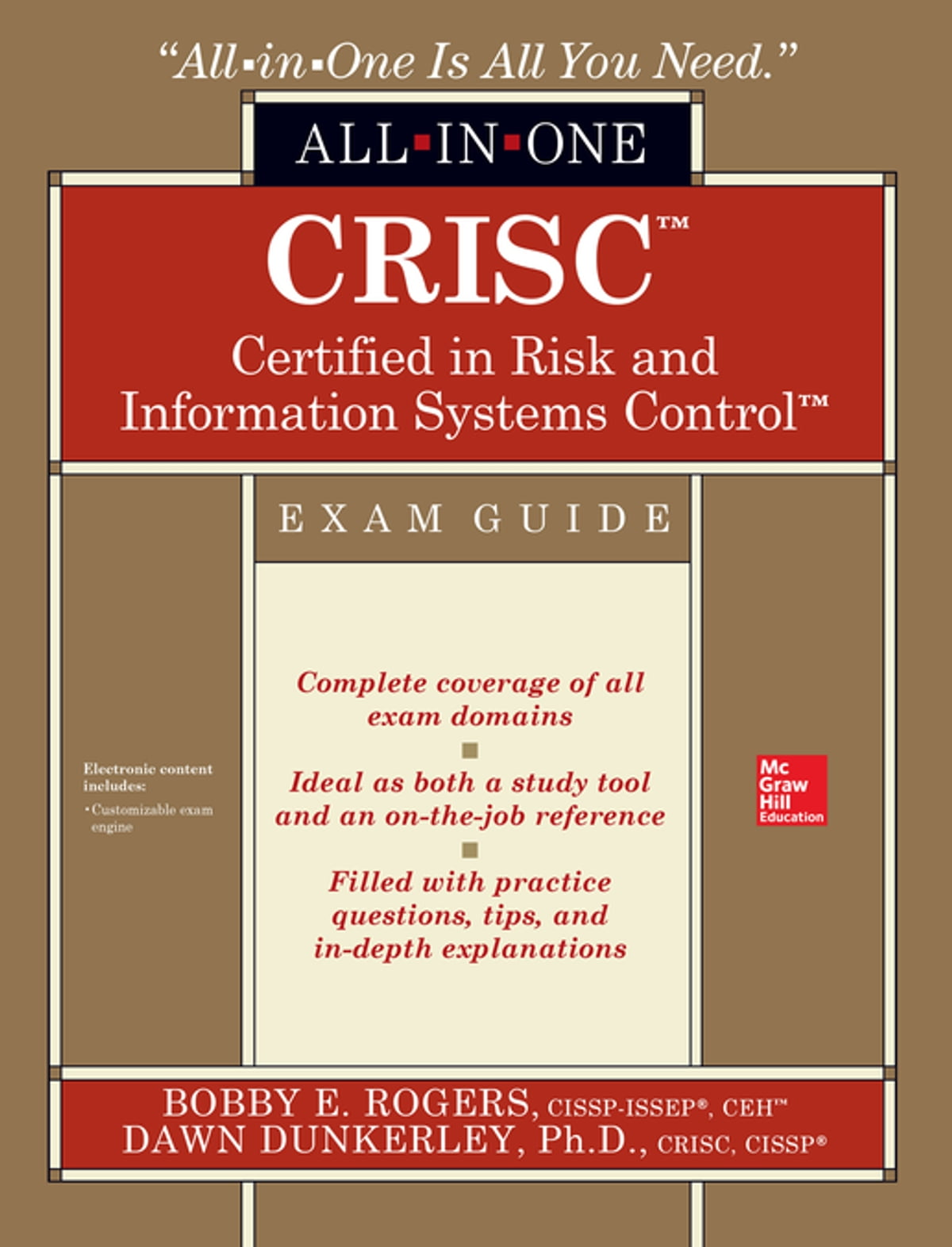 CRISC Certified in Risk and Information Systems Control All-in-One Exam  Guide eBook by Dawn Dunkerley - 9780071847148 | Rakuten Kobo