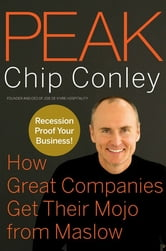 Peak - How Great Companies Get Their Mojo from Maslow ebook by Chip Conley