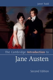 The Cambridge Introduction to Jane Austen ebook by Janet Todd