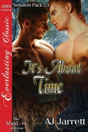 It's About Time ebook by AJ Jarrett