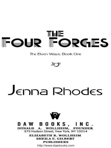 The Four Forges ebook by Jenna Rhodes