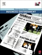 Business Environment Revised Edition ebook by Elearn