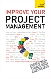 Improve Your Project Management: Teach Yourself ebook by Phil Baguley