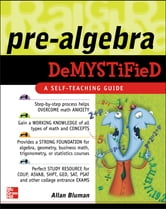 Pre-Algebra Demystified ebook by Allan Bluman