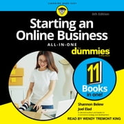 Starting an Online Business All-in-One For Dummies - 6th Edition audiobook by Shannon Belew, Joel Elad