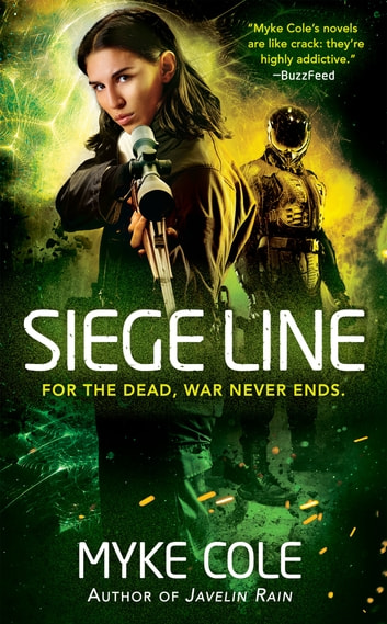 Siege Line ebook by Myke Cole