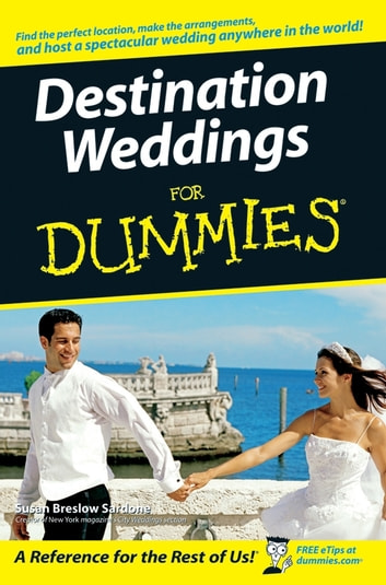 Destination Weddings For Dummies ebook by Susan Breslow Sardone