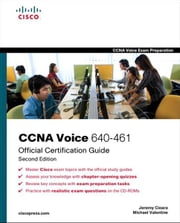CCNA Voice 640-461 Official Cert Guide ebook by Jeremy Cioara,Michael Valentine