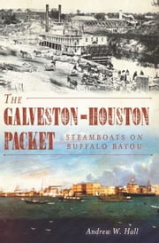 The Galveston-Houston Packet - Steamboats on Buffalo Bayou ebook by Andrew W. Hall