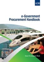 e-Government Procurement Handbook ebook by Asian Development Bank