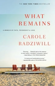 What Remains - A Memoir of Fate, Friendship, and Love ebook by Carole Radziwill