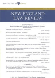 New England Law Review: Volume 48, Number 3 - Spring 2014 ebook by New England Law Review