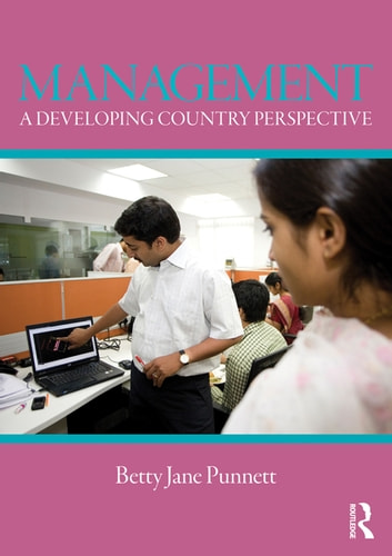 Management - A Developing Country Perspective ebook by Betty Jane Punnett
