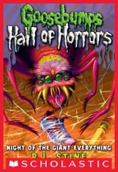 Goosebumps: Hall of Horrors #2: Night of the Giant Everything ebook by R.L. Stine